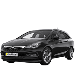 Opel Astra Kombi zu mieten bei der Allround Autovermietung GmbH