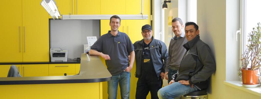 Das Team der Autovermietung für PKW, LKW, Transporter und Kühlfahrzeuge in Berlin Spandau