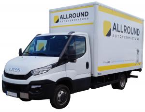 Allround Autovermietung_3,5t Lieferwagen mit Koffer und Labo