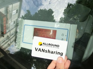 Allround-Vansharing-card