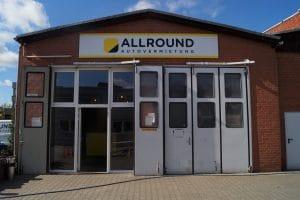Standort der ALLROUND Autovermietung in Spandau