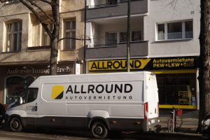 Standort der ALLROUND Autovermietung in Berlin Charlottenburg-Wilmersdorf