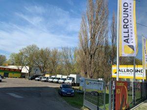Standort der ALLROUND Autovermietung Berlin Reinickendorf